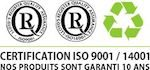 certification iso 9001/14001