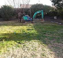 aménagement du jardin